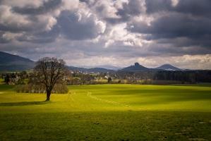Foto Blick vom Wolfsberg Reinhardtsdorf-Schöna