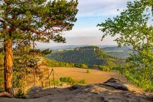 Foto Blick vom Pfaffenstein