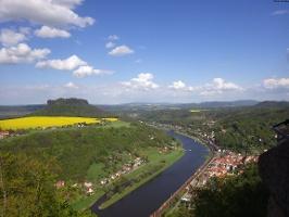 Foto Aussicht von der Festung Königstein