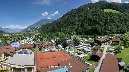 Urlaub am Camping Aufenfeld im Zillertal - Panorama