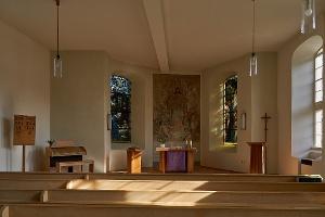 Foto Kirche von Rathewalde innen