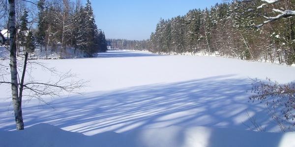 Herrensee im Winter