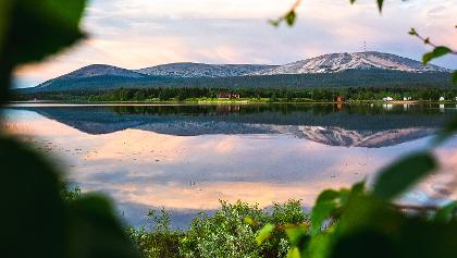 Ylläsjärven virkistysmelontareitti