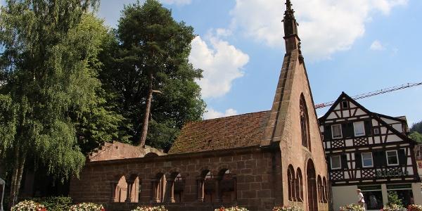 Klosterruine in Bad Herrenalb