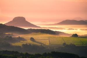 Foto Blick vom Kleinen Bärenstein
