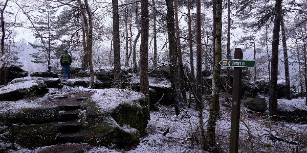 Bielatal Bertablick-Zugang