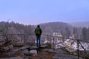 Foto Kleine Bastei Aussicht Bielatal