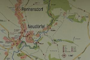 Foto Orientierungskarte beim Rittergut
