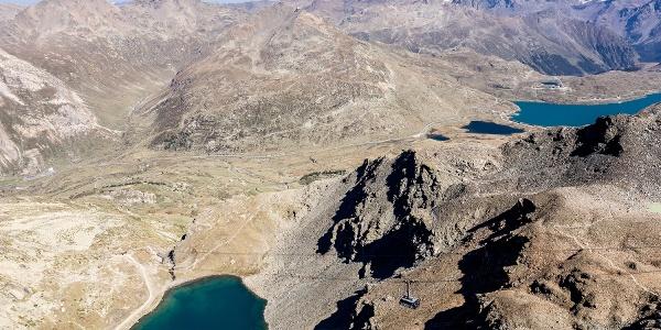 Lej da Diavolezza und Lago Bianco