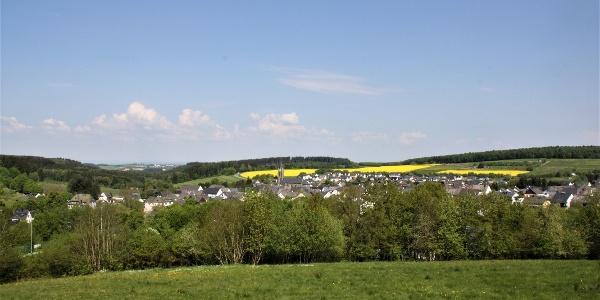 Blick auf Morbach-Gonzerath