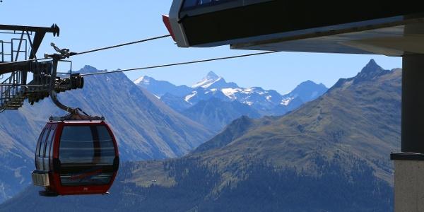 Panoramabahn - Gondel auf den Berg
