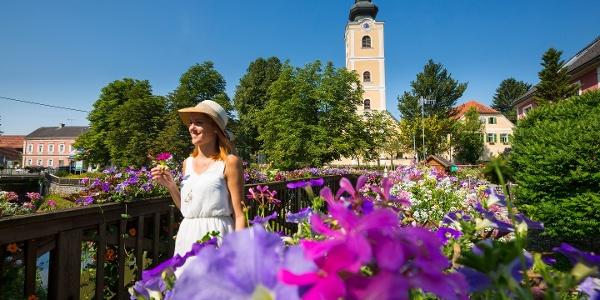 Blumenpracht auf dem W2 in Bad Waltersdorf