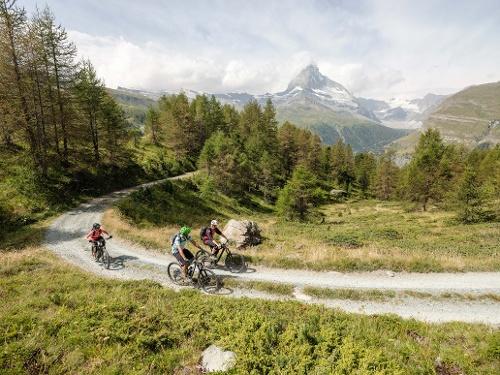 Itinéraire VTT Zermatt–Sunnegga Uphill (Nr. 22)