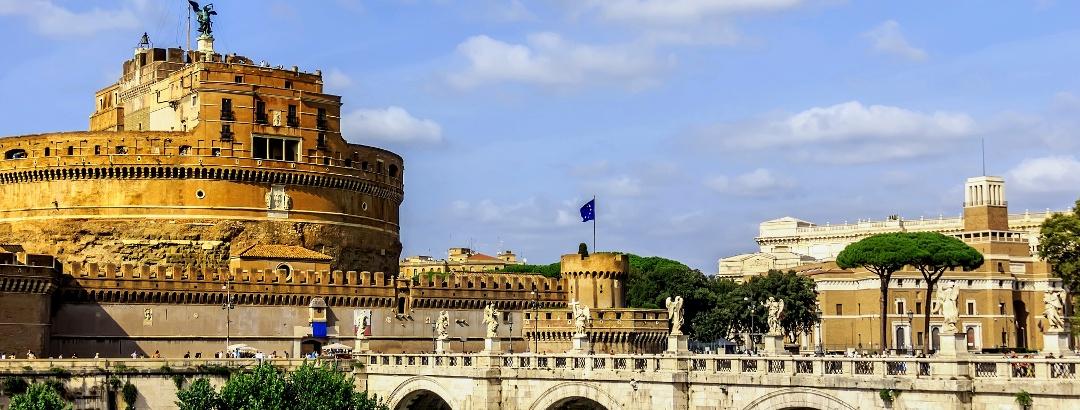 Burg St. Angelo / Engelsburg in Rom - Italien