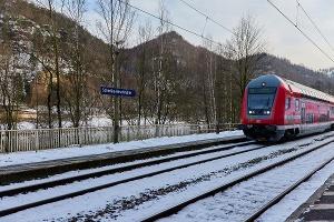 Foto Bahnhof Schmilka-Hirschmühle