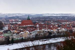 Foto Panoramablick auf Pirna