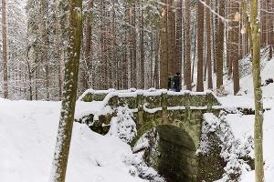 Foto Wanderweg zur Gautschgrotte