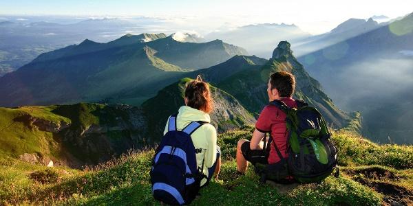 Gipfel-Erlebnis Hochstollen auf Melchsee-Frutt
