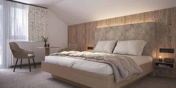 Doppelzimmer Alpenchic groß