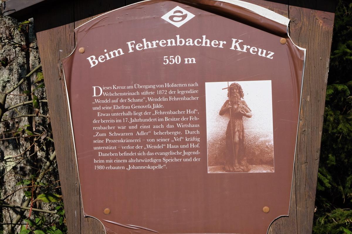 Beim Fehrenbacher Kreuz