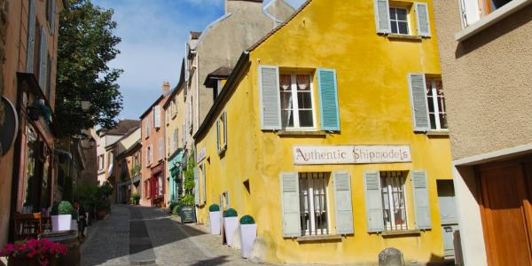 La Grande Rue de Marly-le-Roi