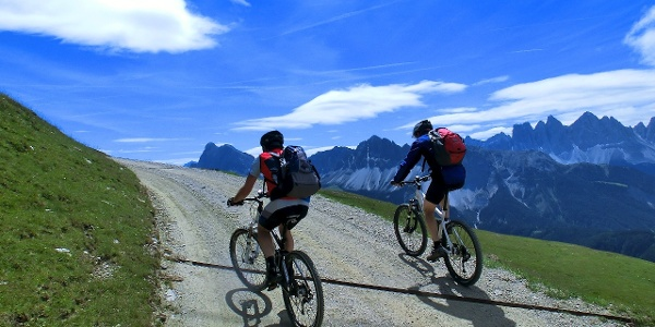 A gentle start of the tour on the Plose and Ochsenalm