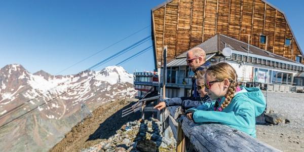 Gletscherbahn Bergstation