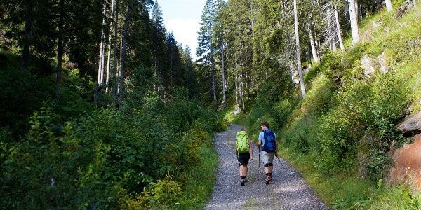 Durch das Lazzachertal führt die Tour von Ridnaun auf die Gleckspitz und weiter ins Ratschingstal.