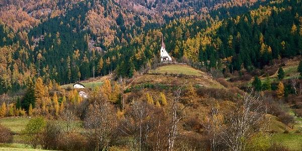 Der Bienenweg Freienfeld verläuft von Valgenäun bis Maria Trens