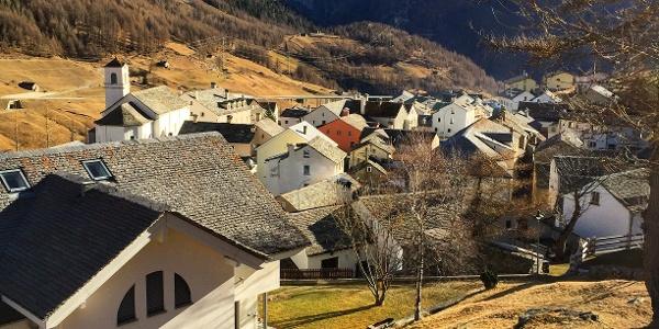 Oberhalb Simplon Dorf