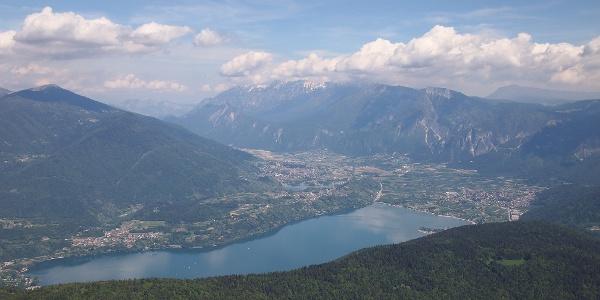 Aussicht auf den Caldonazzo-See