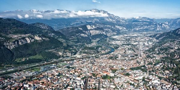 Trento, Ausgangspunkt und Endpunkt der E-Bike-Tour