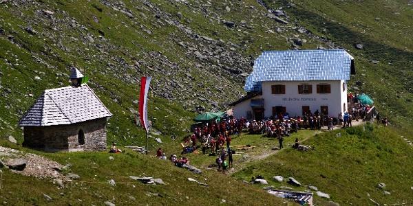 Vom Giggelberg zur Lodnerhütte und über den Franz-Huber-Steig zur Tablander Alm.