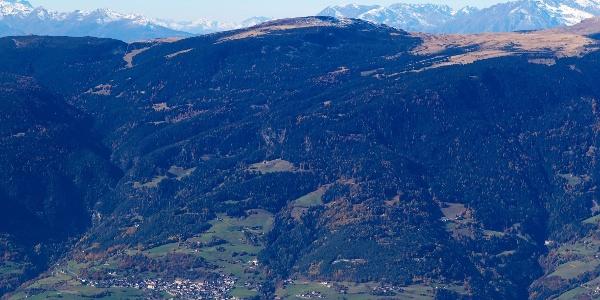 Die Tour von Barbian aufs Rittner Horn im Gesamtüberblick.