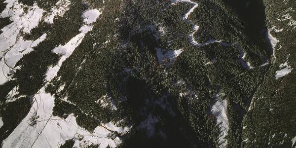 Von St. Moritz führt der Weg bis nach Steinrast.