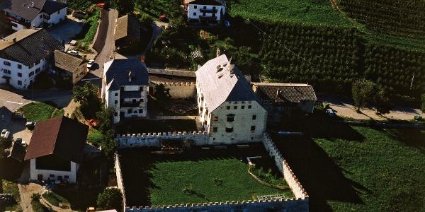Schloss Velthurns in Feldthurns im Eisacktal, hier startet die Wanderung