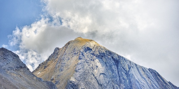 Die Hohe Weiße, 3.278 m. Blick zum Gipfel