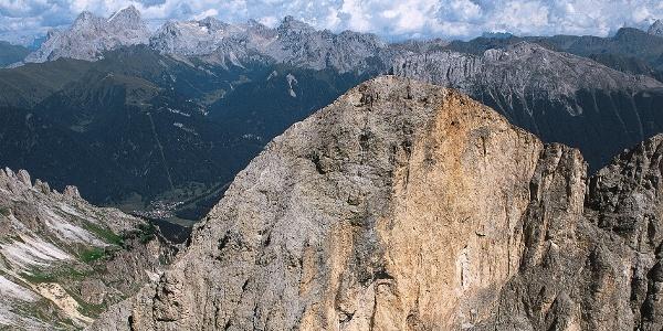 Klettersteigtour über den Gipfel der Rotwand