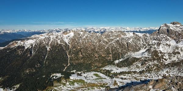 Unterwegs am Günther-Messner-Gedächtnissteig