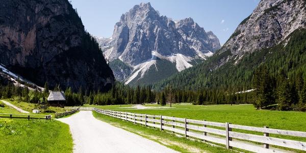 La Val Campo di Dentro with the Monte Matina peak.