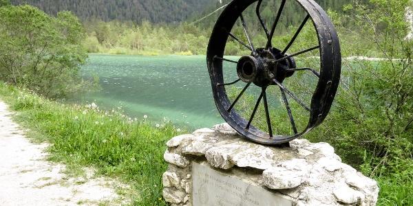 Throught the lake Lago di Landro to Cortina.