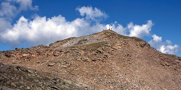 Die Seebödenspitze über der Haider Alm