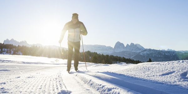 Cross-Country Skiing in Alpe di Villandro