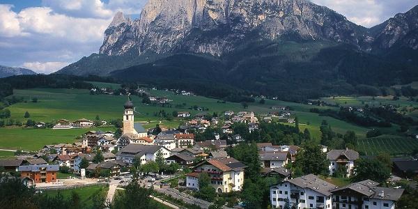 Coming from Prato dell'Isarco, past Fiè llo Sciliar