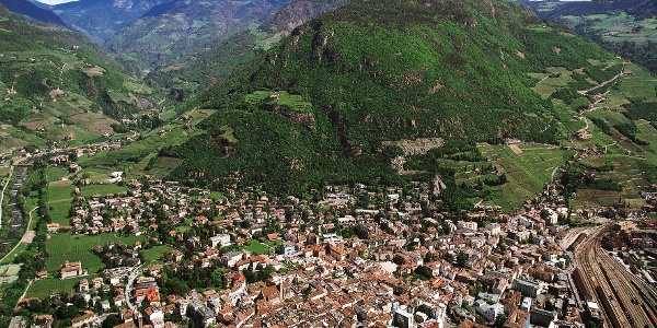 The starting point of the tour is the city of Bolzano.