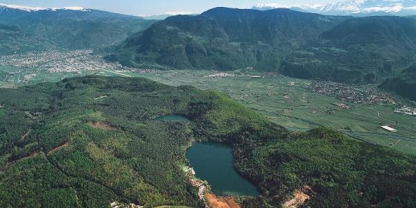 Der Montiggler Wald im Überetsch, Eldorado für Mountainbiker