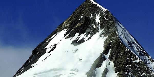 Der steile Aufstieg zur Königsspitze