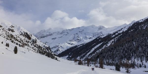 Winteridylle pur im Langtauferer Tal