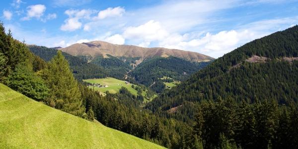 Vom Silvestertal führt die Tour über den Hochrast zum Marchkinkele im Pustertal.