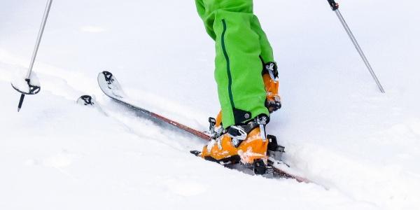 Klassische Skitour von Reschen über Gruben auf den Piz Russenna im Obervinschgau.